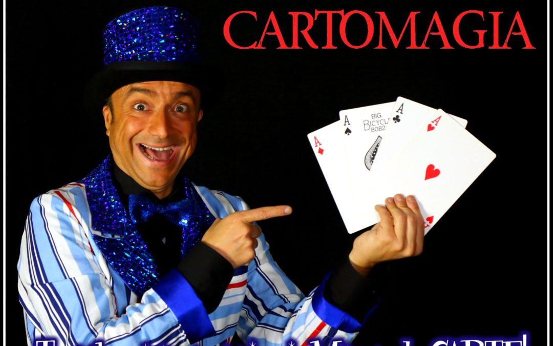 Principi di CARTOMAGIA – Lunedì 30 novembre – Ore 18:00