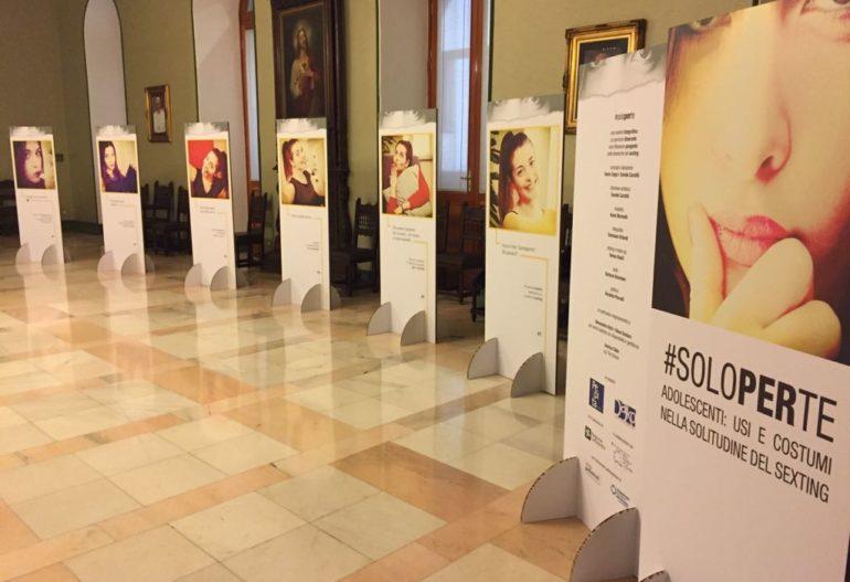 Le scuole ospitano la mostra sul #sexting